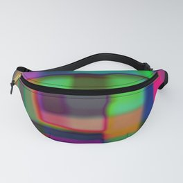 Colored blured background Fanny Pack