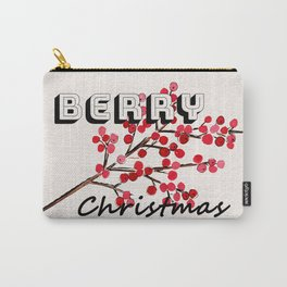 Happy berry christmas I Carry-All Pouch