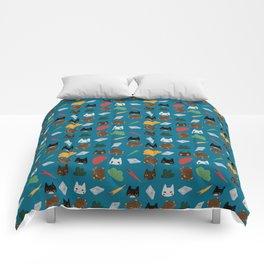 Gatti in viaggio Comforters