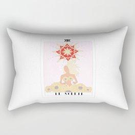 le soleil - the sun tarot card Rectangular Pillow