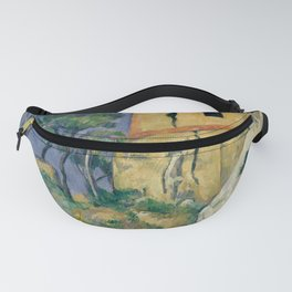 "Paul Cezanne ""The House with the Cracked Walls"" Fanny Pack"