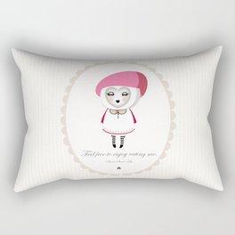 Sweet Sweet Tofu Rectangular Pillow