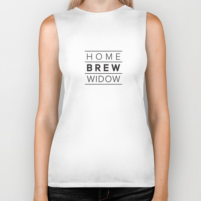 Homebrew Widow (Black) Biker Tank