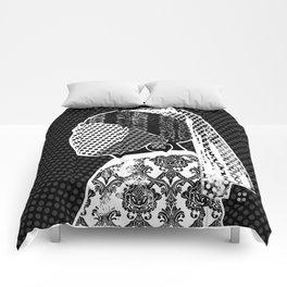 Vermeer, der Perlenohrring und das Muster Comforters