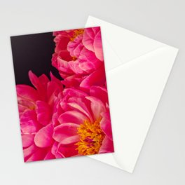 Hot Pink Peonies - Flower Photography Stationery Cards