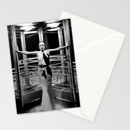 Joan Crawford, Hollywood Starlet Grand Hotel black and white photograph / art photography Stationery Cards