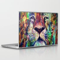 lion Laptop & iPad Skins featuring Lion by nicebleed