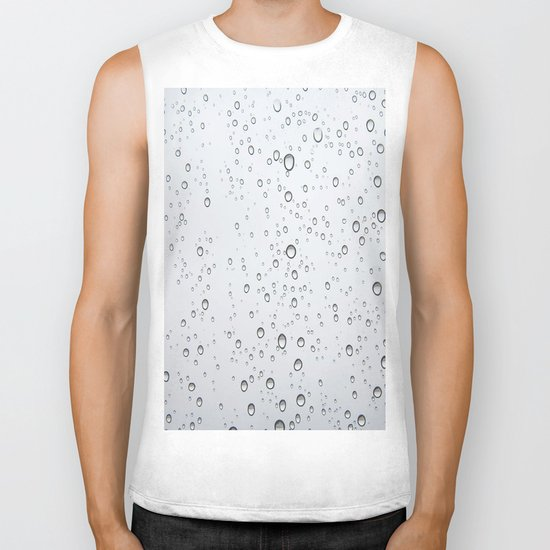 Rain Drop Biker Tank