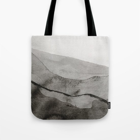 Ink Layers Tote Bag
