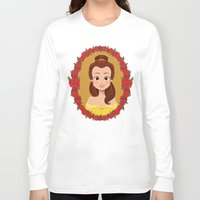 belle Long Sleeve T-shirts featuring Belle by Joey Ellson