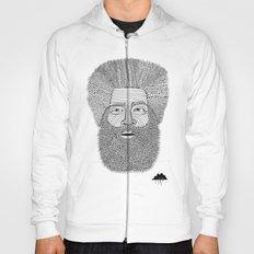 Afro Beard Man Hoody