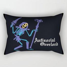 Antisocial Overlord Rectangular Pillow