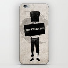 Need Food For Life iPhone & iPod Skin