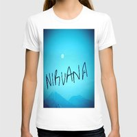 nirvana T-shirts featuring Nirvana by SLIDE