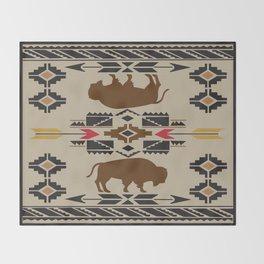 American Native Pattern No. 180 Throw Blanket
