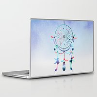 dream catcher Laptop & iPad Skins featuring Dream Catcher by Find a Gift Now