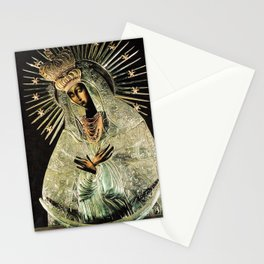 Our Lady Gate of Dawn Virgin Mary of Sharp Gate Madonna without Child Christmas Gift Religion Art Stationery Cards