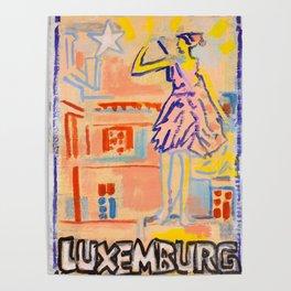 European Capital - Luxemburg Poster