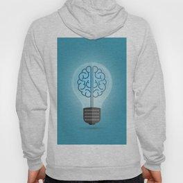 Bulb Brain Blue Hoody