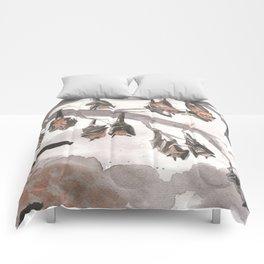 Thirteen Bats Comforters