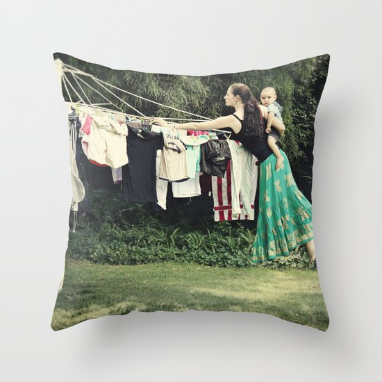 Secret Powers of a Supermom (I wish!) Throw Pillow