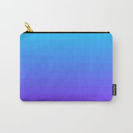 Blue and Purple Ombre Carry-All Pouch