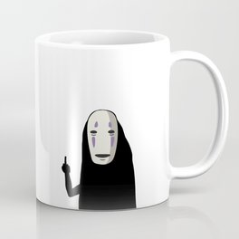 No Face and a Bird Coffee Mug