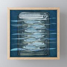 Fish Food Framed Mini Art Print