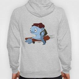 Fish Skateboarder Hoody