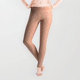Art Deco, Simple Shapes Pattern 1 [ROSE GOLD] Leggings