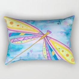 Dragonfly IV Rectangular Pillow