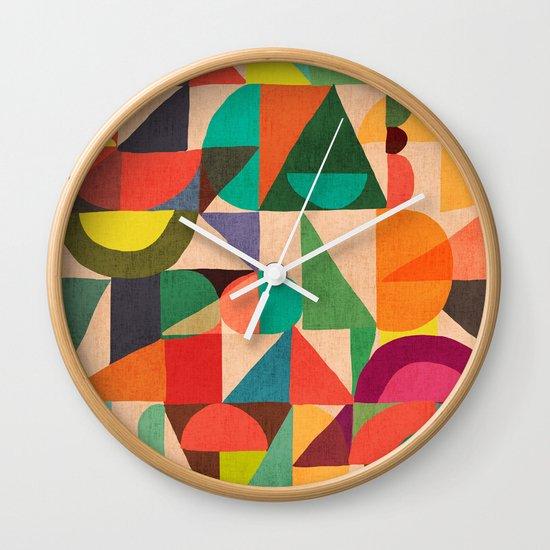 Color Field Wall Clock