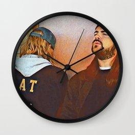 Jay and Silent Bob x Chillin Wall Clock