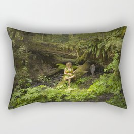 Forest Fantasy Rectangular Pillow