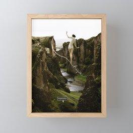 hope and expectation Framed Mini Art Print