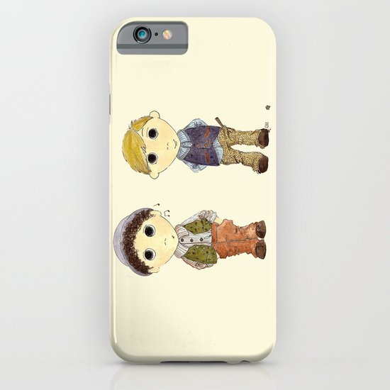 The Twins: Hugo & Harry iPhone & iPod Case