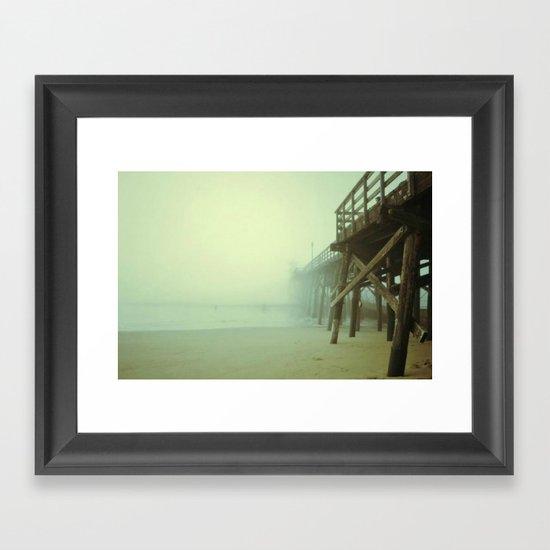 Deja Vu Framed Art Print