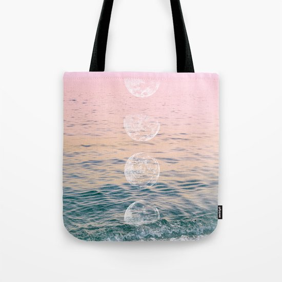 Moontime on the Beach Tote Bag