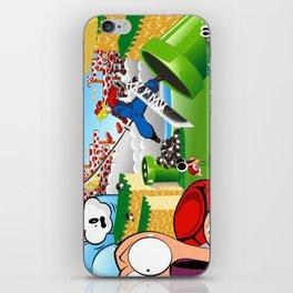 WHAT IF ..aka mushroom kingdom. iPhone Skin