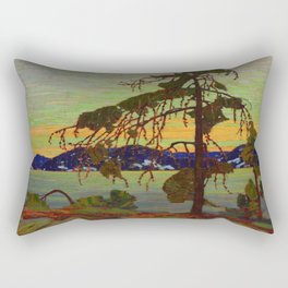 Tom Thomson The Jack Pine 1916-1917 Canadian Landscape Artist Rectangular Pillow