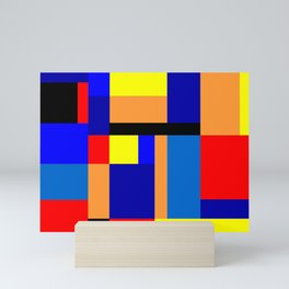 Mondrian #2 Mini Art Print