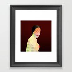 Porn Star Framed Art Print