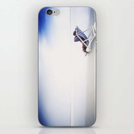 Chilling at the Beach iPhone & iPod Skin