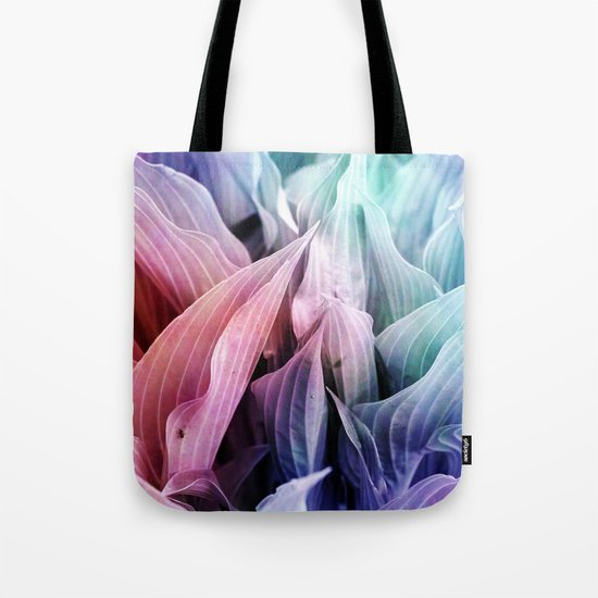 colored leafs Tote Bag