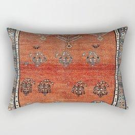Bakhshaish Azerbaijan Northwest Persian Carpet Print Rectangular Pillow