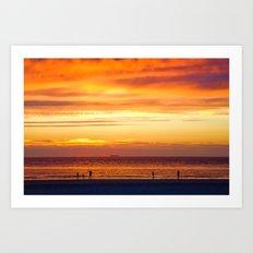 Sunset Now Art Print