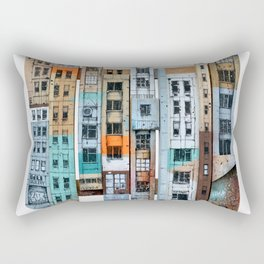 NEW-YORK PATCHWORK Rectangular Pillow