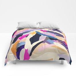 inner space flowers Comforters