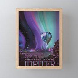 Jupiter Poster Framed Mini Art Print