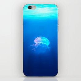 Lone Jellyfish iPhone Skin